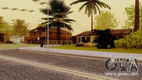 Texturas nuevas casas en la calle grove para GTA San Andreas sucesivamente de pantalla