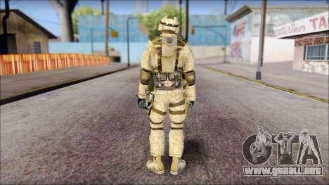 USA Soldier para GTA San Andreas segunda pantalla