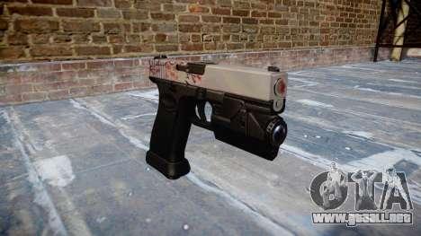 Pistola Glock 20 cereza blososm para GTA 4