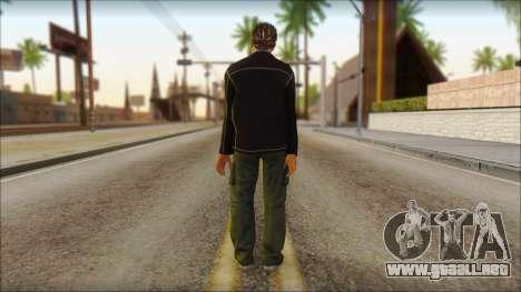 GTA 5 Ped 4 para GTA San Andreas segunda pantalla