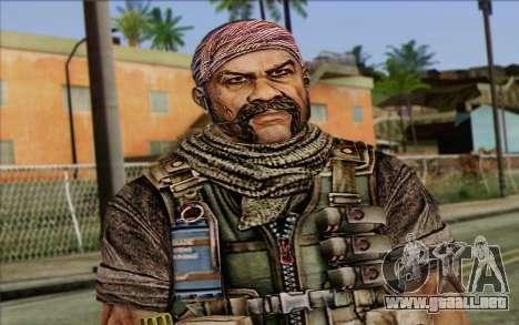 Los soldados de la Rogue Warrior 3 para GTA San Andreas tercera pantalla
