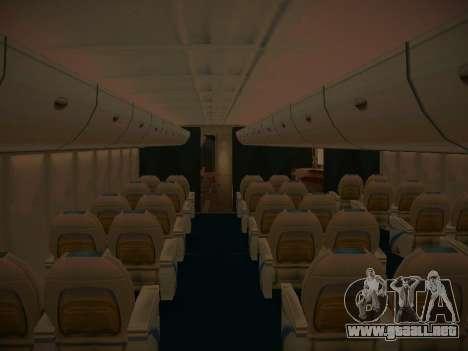 Airbus A380-800 Korean Air para las ruedas de GTA San Andreas