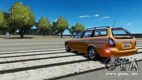 Daewoo Nubira I Wagon CDX US 1999 para GTA 4 visión correcta