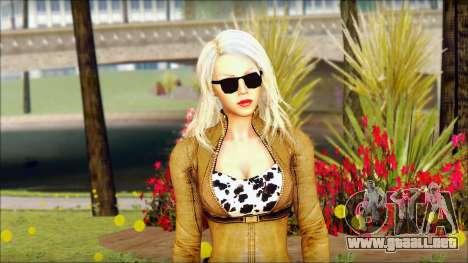 Eva Girl v1 para GTA San Andreas tercera pantalla