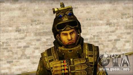 Los soldados de la UE (AVA) v1 para GTA San Andreas tercera pantalla