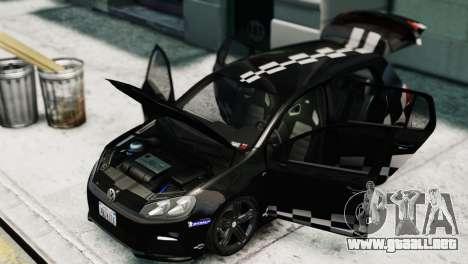 Volkswagen Golf R 2010 MTM Paintjob para GTA 4 visión correcta