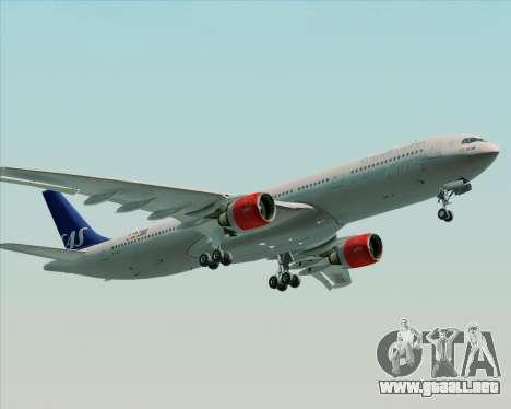 Airbus A330-300 Scandinavian Airlines System. para el motor de GTA San Andreas