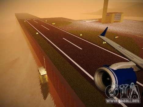 Embraer E190 Azul Brazilian Airlines para las ruedas de GTA San Andreas
