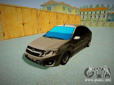 Lada Granta Liftback para GTA San Andreas left