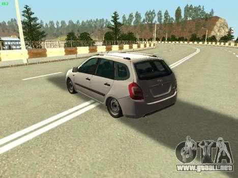 Lada Kalina 2 Wagon para GTA San Andreas left