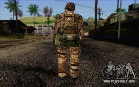Soldados de MEK (Battlefield 2) de la Piel 4 para GTA San Andreas segunda pantalla