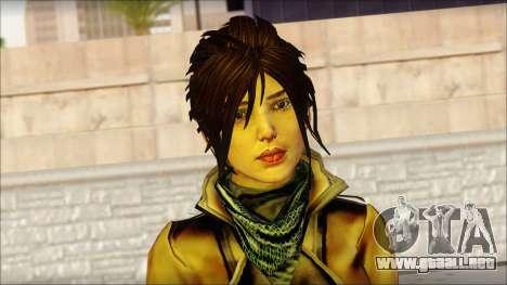 Tomb Raider Skin 2 2013 para GTA San Andreas tercera pantalla