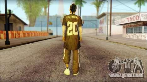 Afro - Seville Playaz Settlement Skin v4 para GTA San Andreas segunda pantalla