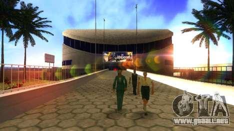 Texturas en HD en el estadio de Las Venturas para GTA San Andreas sucesivamente de pantalla