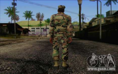 California National Guard	 Skin 3 para GTA San Andreas segunda pantalla