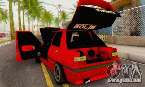 Dacia Super Nova Tuning para la visión correcta GTA San Andreas