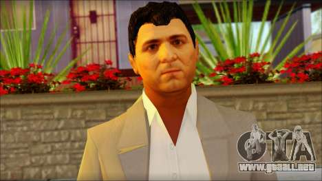 Michael from GTA 5v2 para GTA San Andreas tercera pantalla