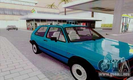 Volkswagen Golf 2 GTi para vista lateral GTA San Andreas