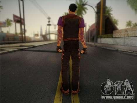 Slim Thug para GTA San Andreas segunda pantalla