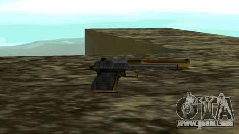 Gold Deagle para GTA San Andreas