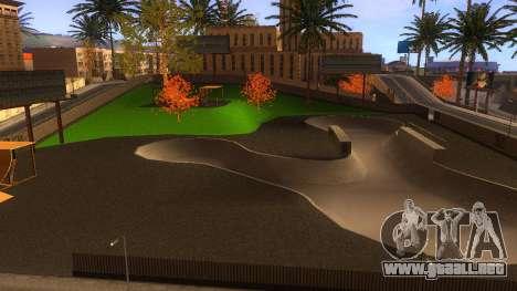 Texturas en HD skate Park y hospital V2 para GTA San Andreas décimo de pantalla