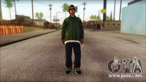 Eazy-E Green Skin v1 para GTA San Andreas