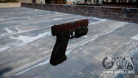 Pistola Glock 20 el arte de la guerra para GTA 4 segundos de pantalla