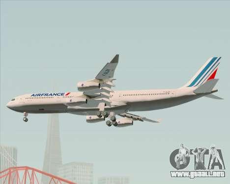 Airbus A340-313 Air France (New Livery) para GTA San Andreas