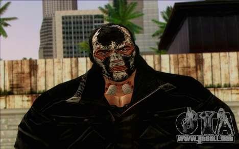 Bane from Batman: Arkham Origins para GTA San Andreas tercera pantalla