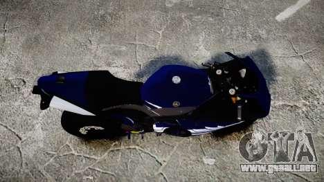 Yamaha YZF-R1 2009 para GTA 4 visión correcta