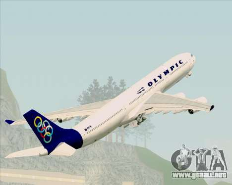 Airbus A340-313 Olympic Airlines para GTA San Andreas