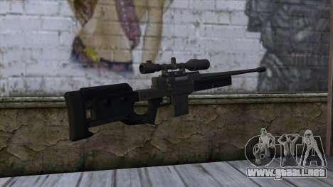 GTA 5 Sniper Rifle para GTA San Andreas segunda pantalla