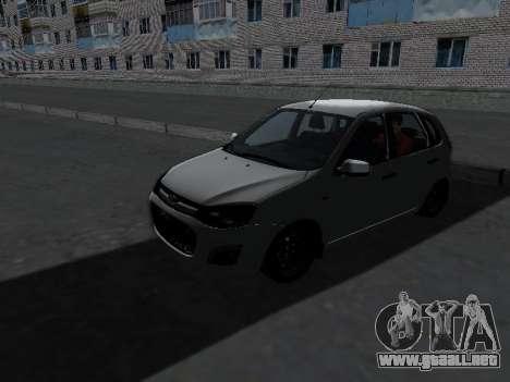 Lada Kalina 2 para GTA San Andreas left