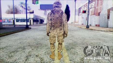 Ranger (CoD: MW2) v1 para GTA San Andreas segunda pantalla