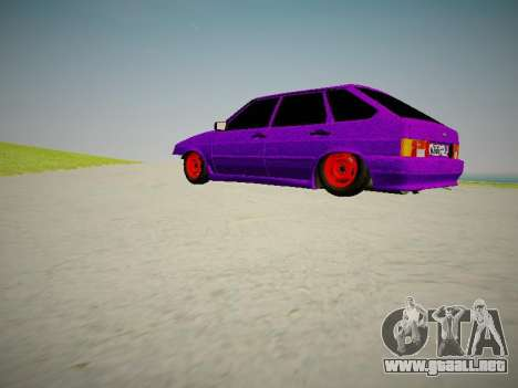 VAZ 2114 para visión interna GTA San Andreas