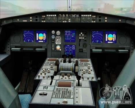 Airbus A330-300 Oman Air para vista inferior GTA San Andreas