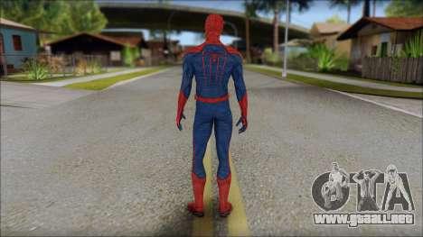 Standart Spider Man para GTA San Andreas segunda pantalla
