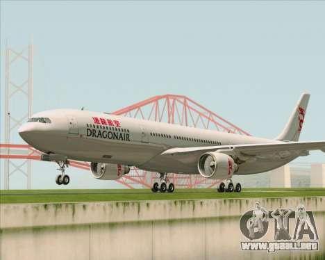 Airbus A330-300 Dragonair para GTA San Andreas left