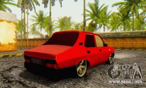 Dacia 1310 TLX PRN v2 para GTA San Andreas vista posterior izquierda