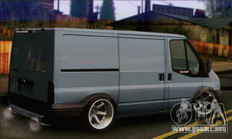 Ford Transit Limited Edition para GTA San Andreas left