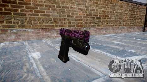 Pistola Glock 20 de party rock para GTA 4