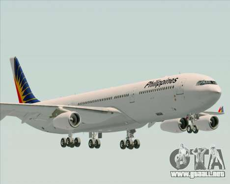 Airbus A340-313 Philippine Airlines para GTA San Andreas