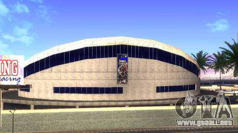 Texturas en HD en el estadio de Las Venturas para GTA San Andreas segunda pantalla