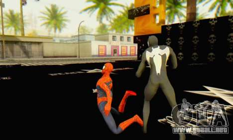 Skin The Amazing Spider Man 2 - Molecula Estable para GTA San Andreas quinta pantalla