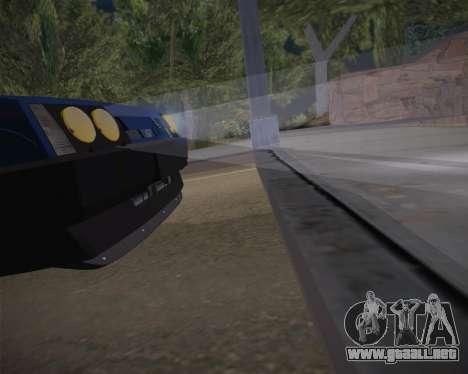 ВАЗ 2109 Baja Clásico para vista lateral GTA San Andreas