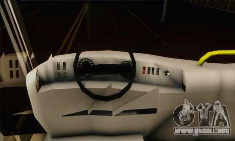 Volvo Lasta Bus para la visión correcta GTA San Andreas