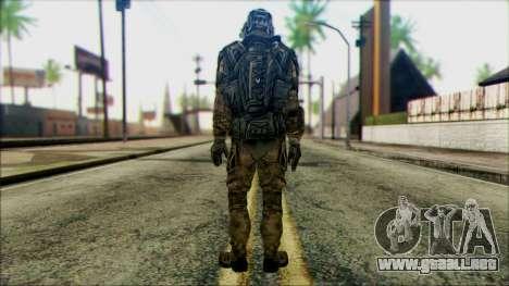 Soldados de equipo Fantasma 1 para GTA San Andreas segunda pantalla