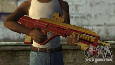 AUG A3 from PointBlank v1 para GTA San Andreas tercera pantalla