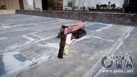 Pistola De Kimber 1911 Kawaii para GTA 4 segundos de pantalla