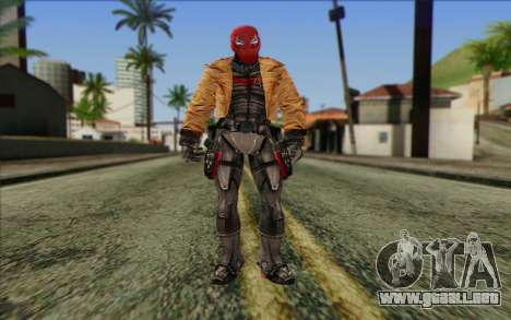 Red Hood from DC Comics para GTA San Andreas